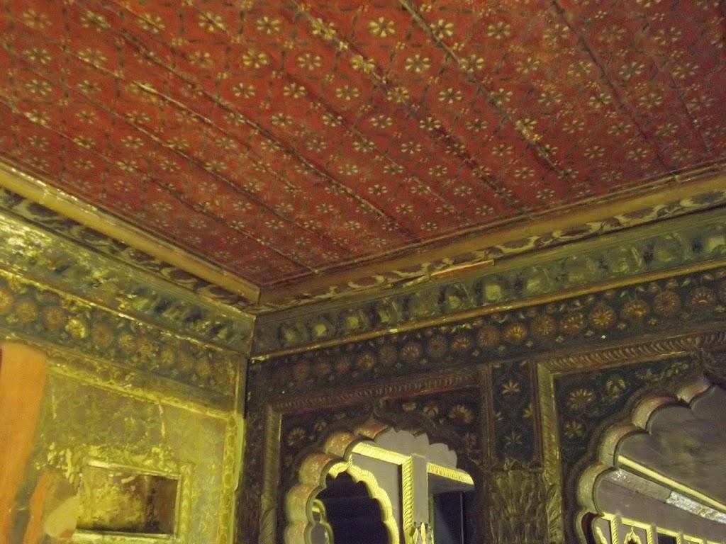 détails du palais de Tipu Sultan