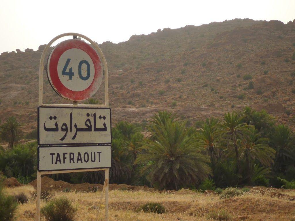 entrée dans Tafraout