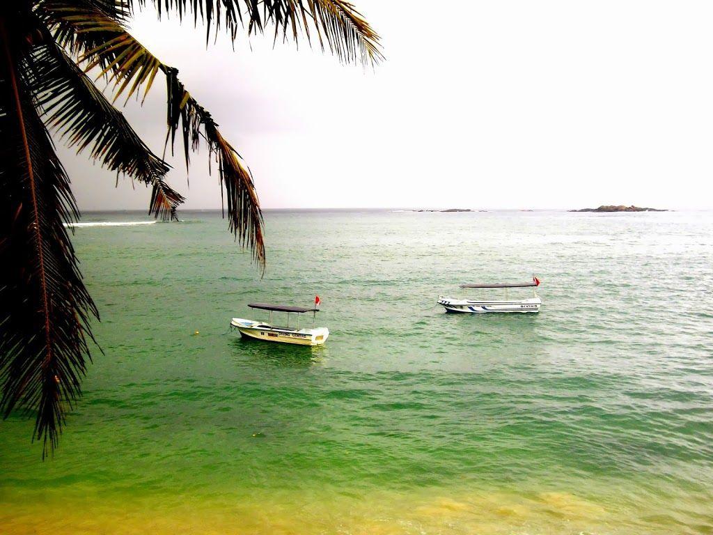 Unawatuna, bateaux