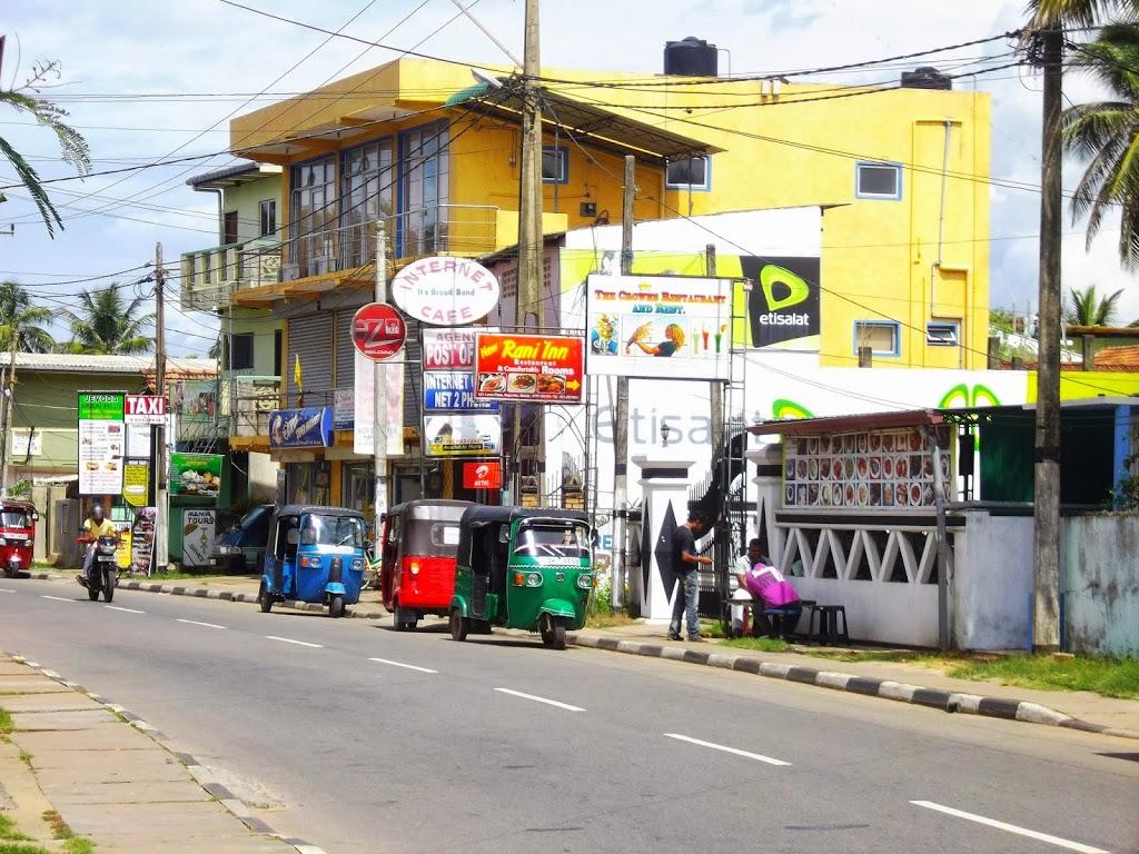 Sri Lanka, dans la rue