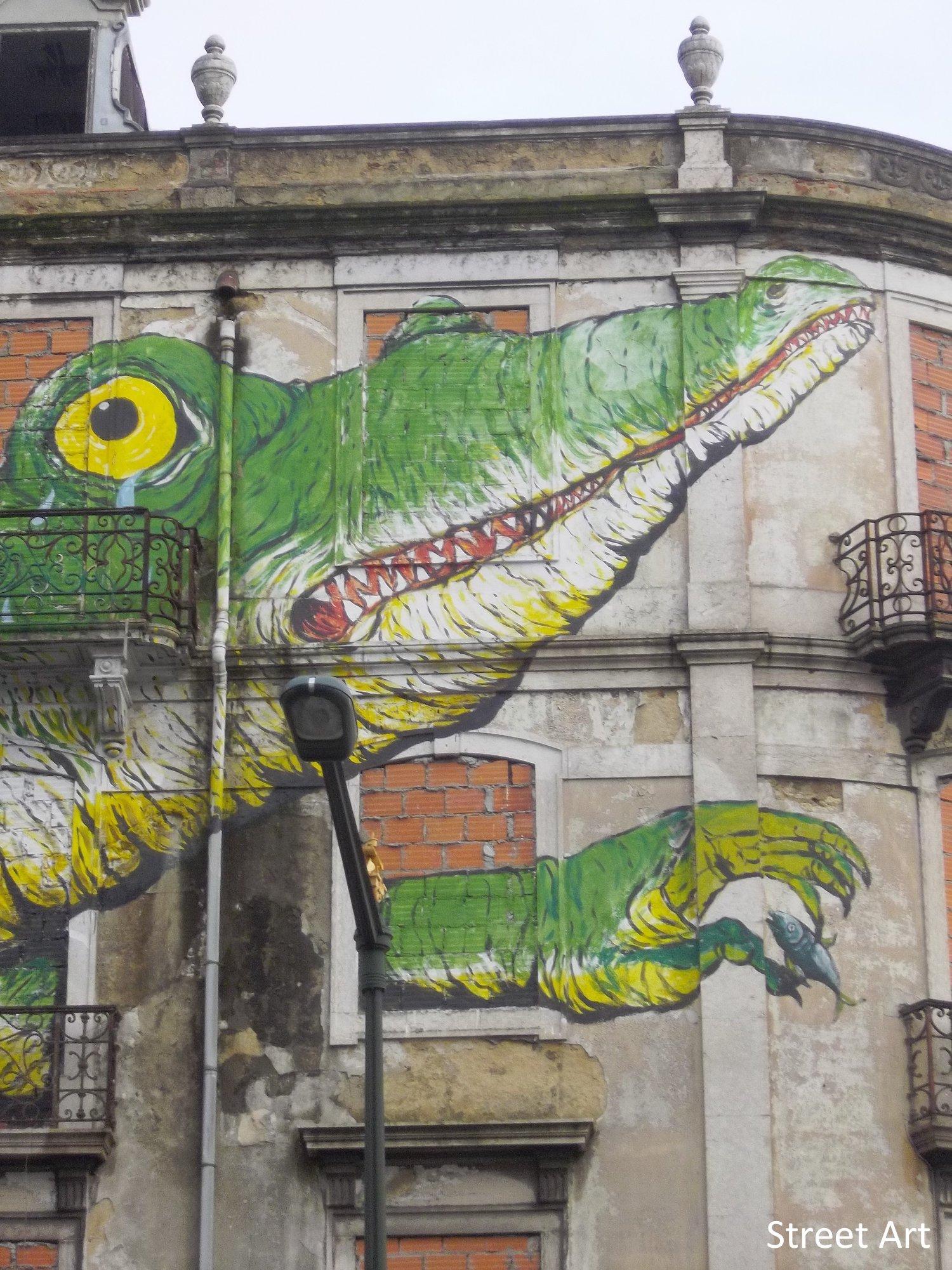 Street Art lisbonne portugal