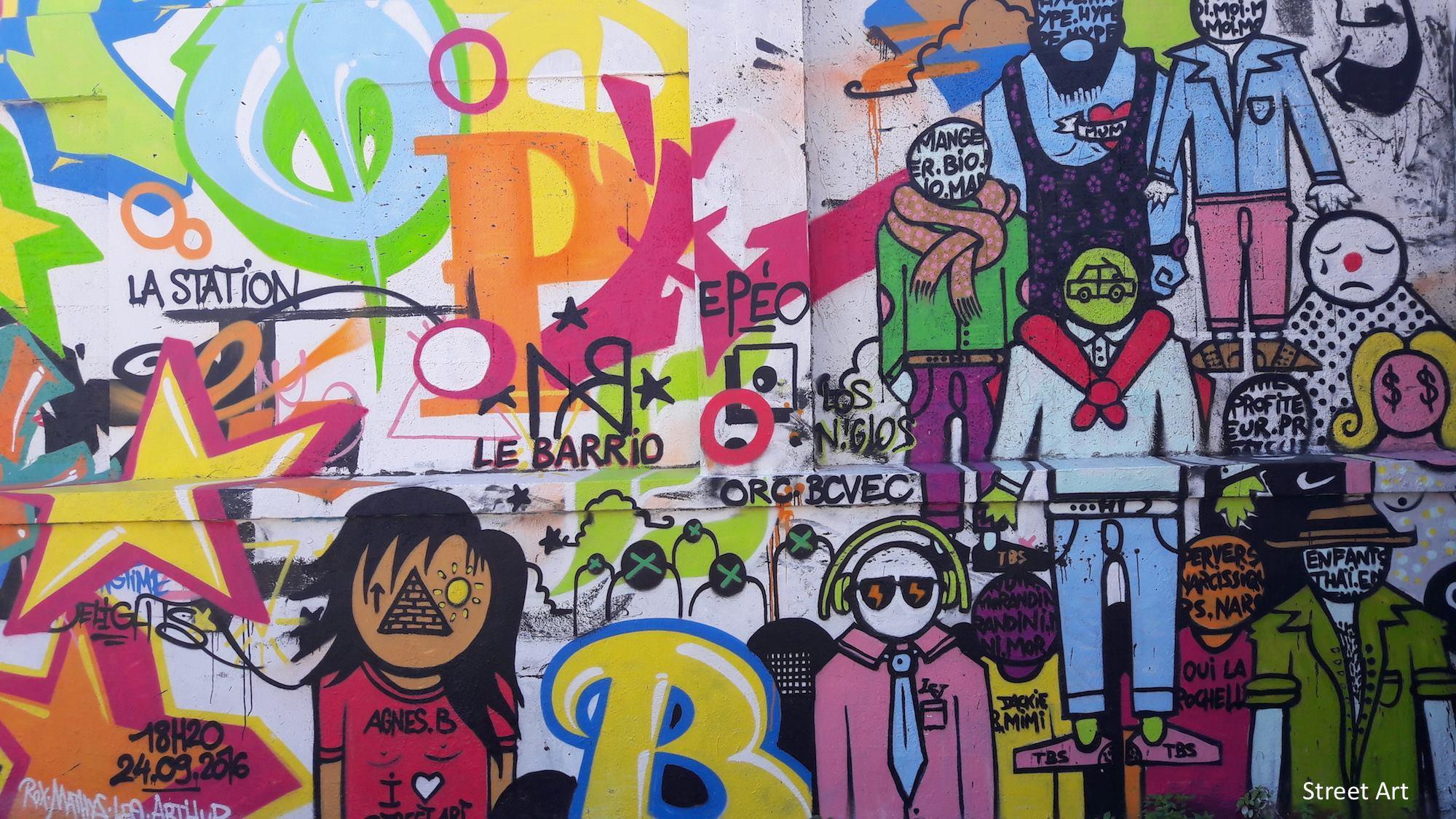 Street Art la rochelle france