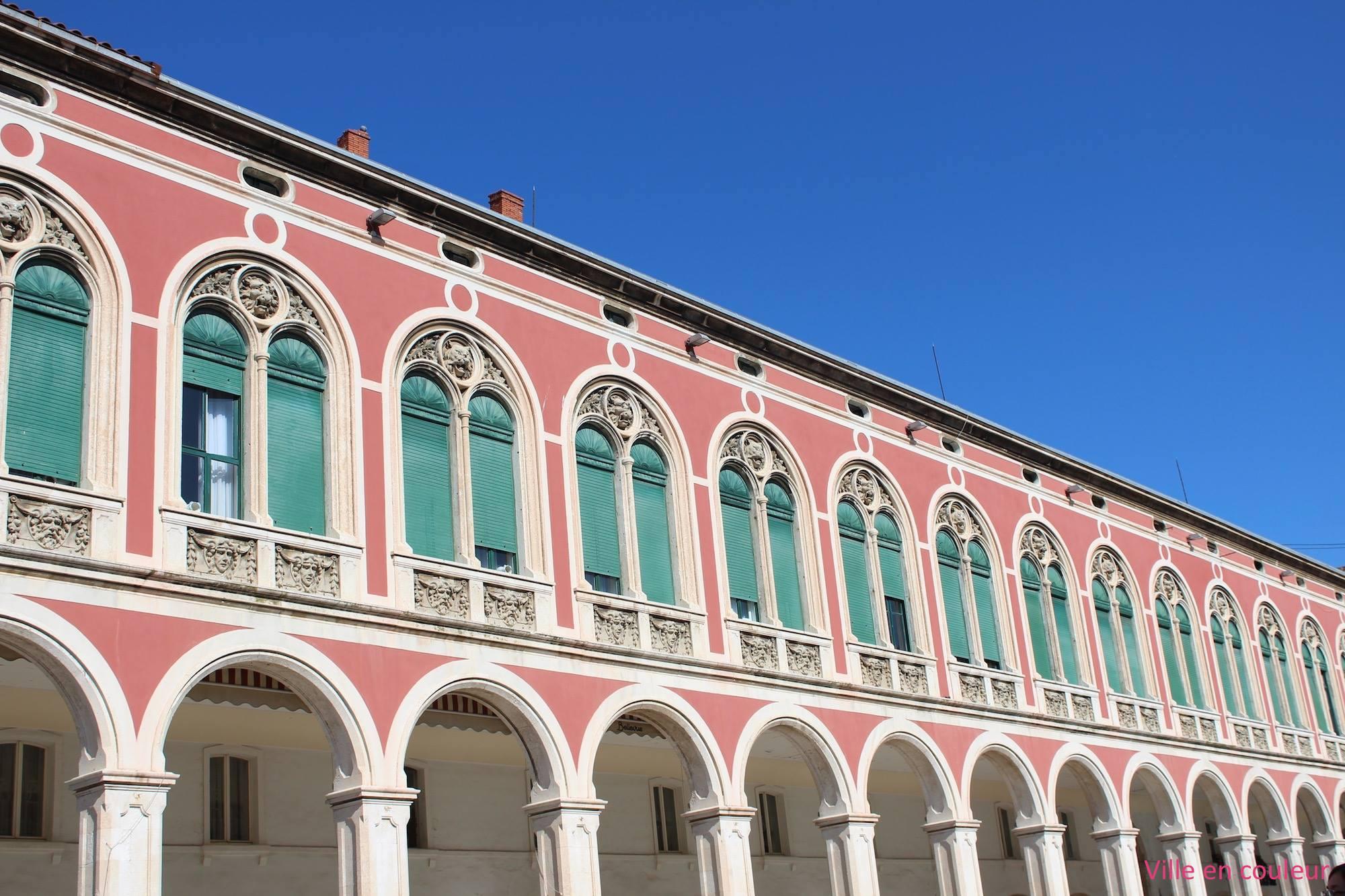 Ville en couleur Split croatie