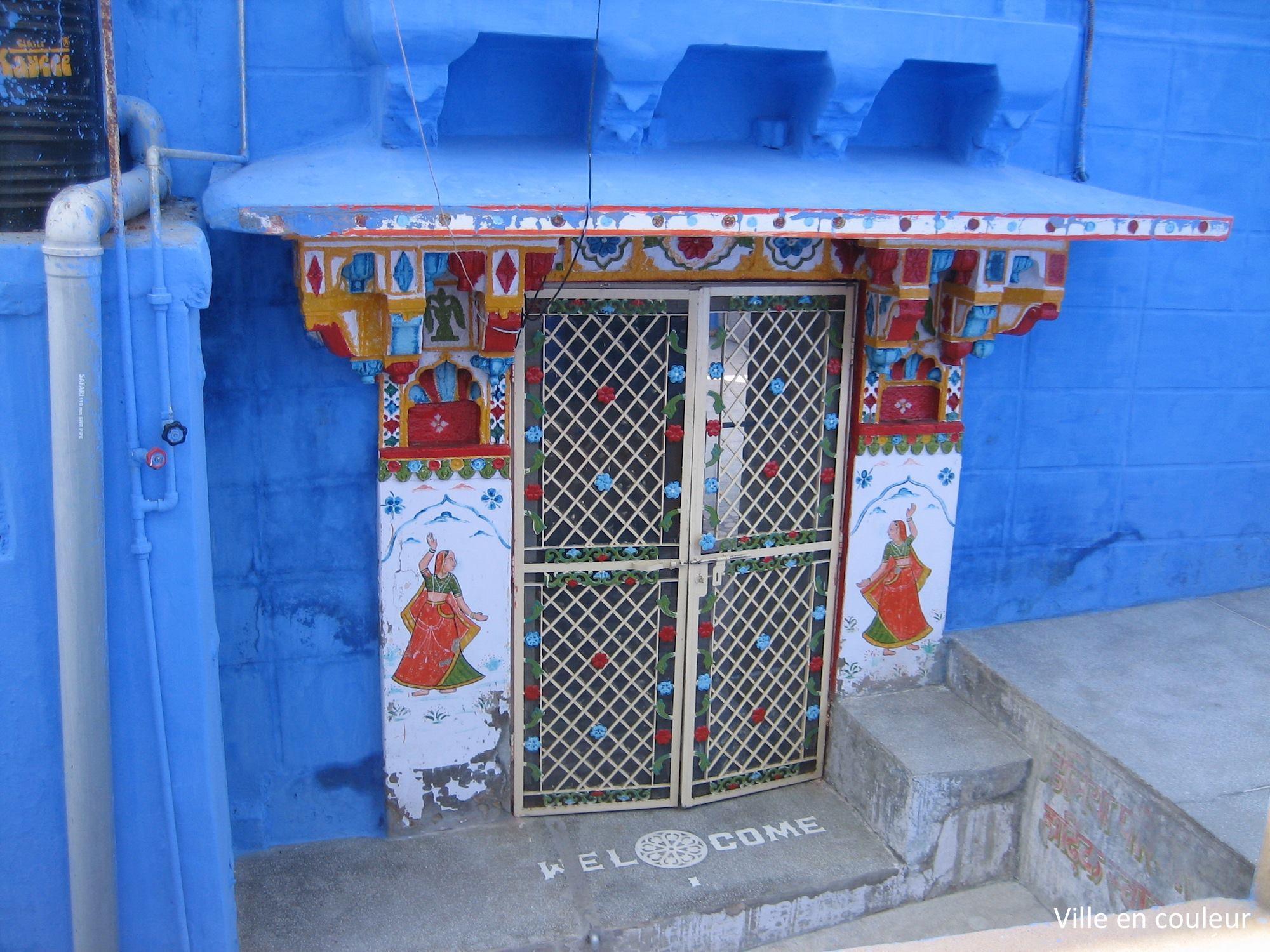Ville en couleur jodhpur inde