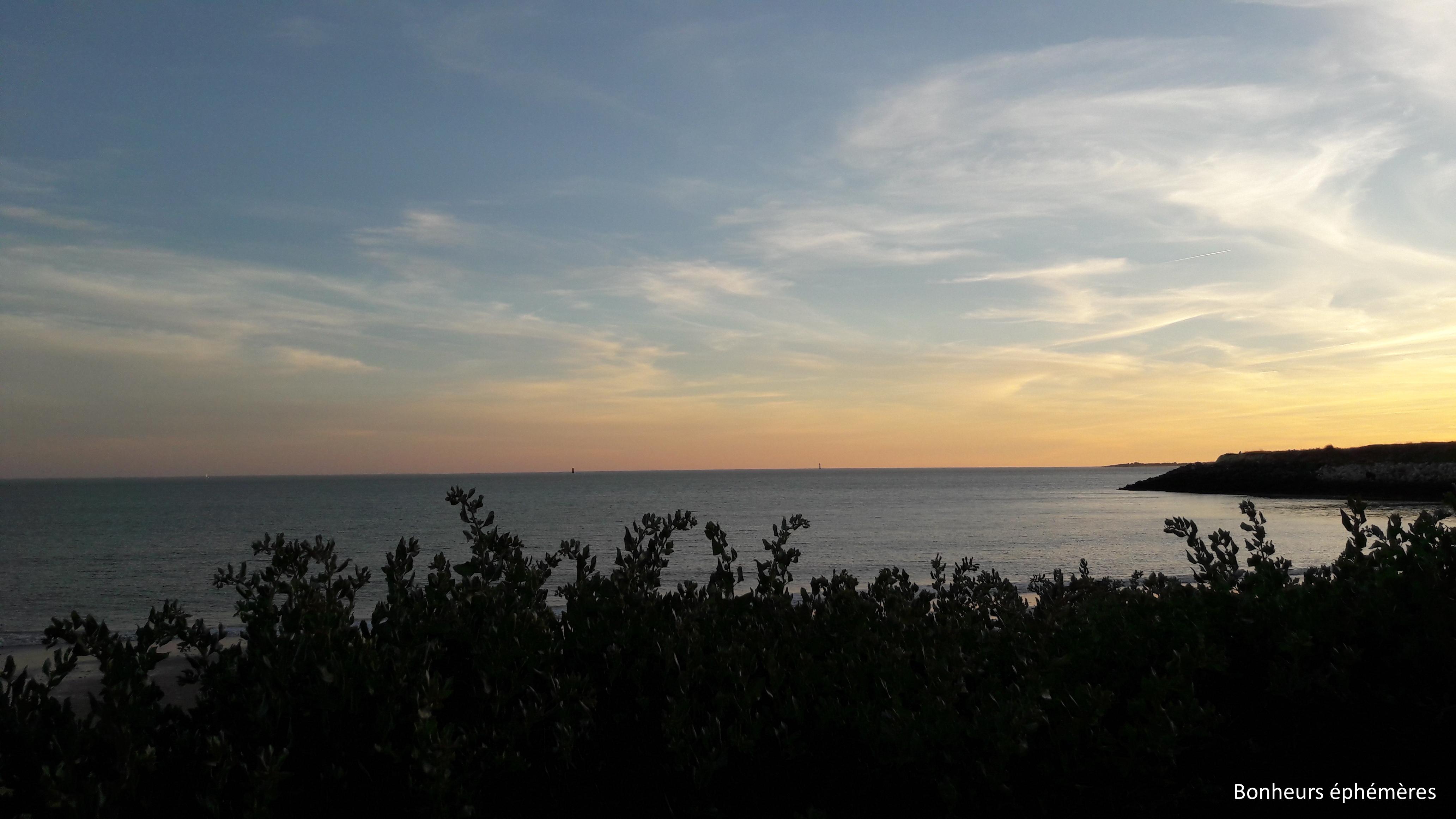 coucher de soleil la rochelle