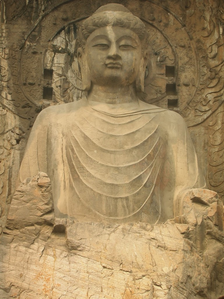 Grand Bouddha assis de Longmen