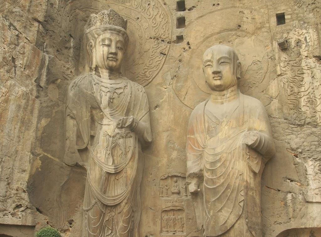 statues de pierre, Longmen