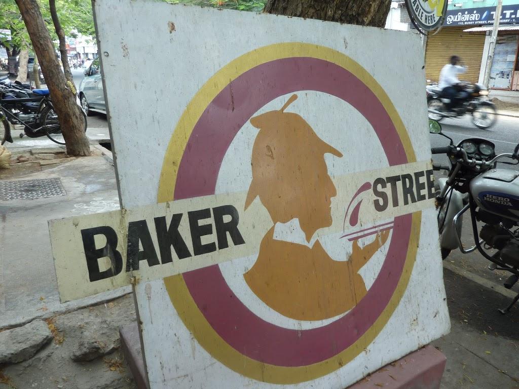 boulangerie Baker Street à Pondichéry