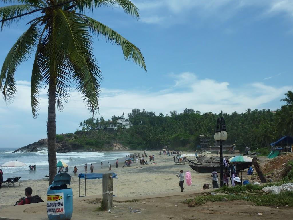 deuxième plage de Kovalam