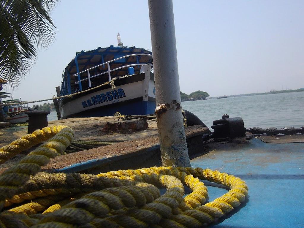 bateau à Cochin