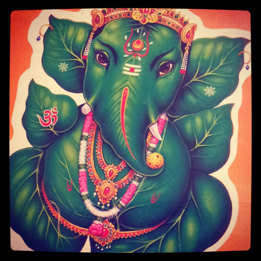 autocollant Ganesh