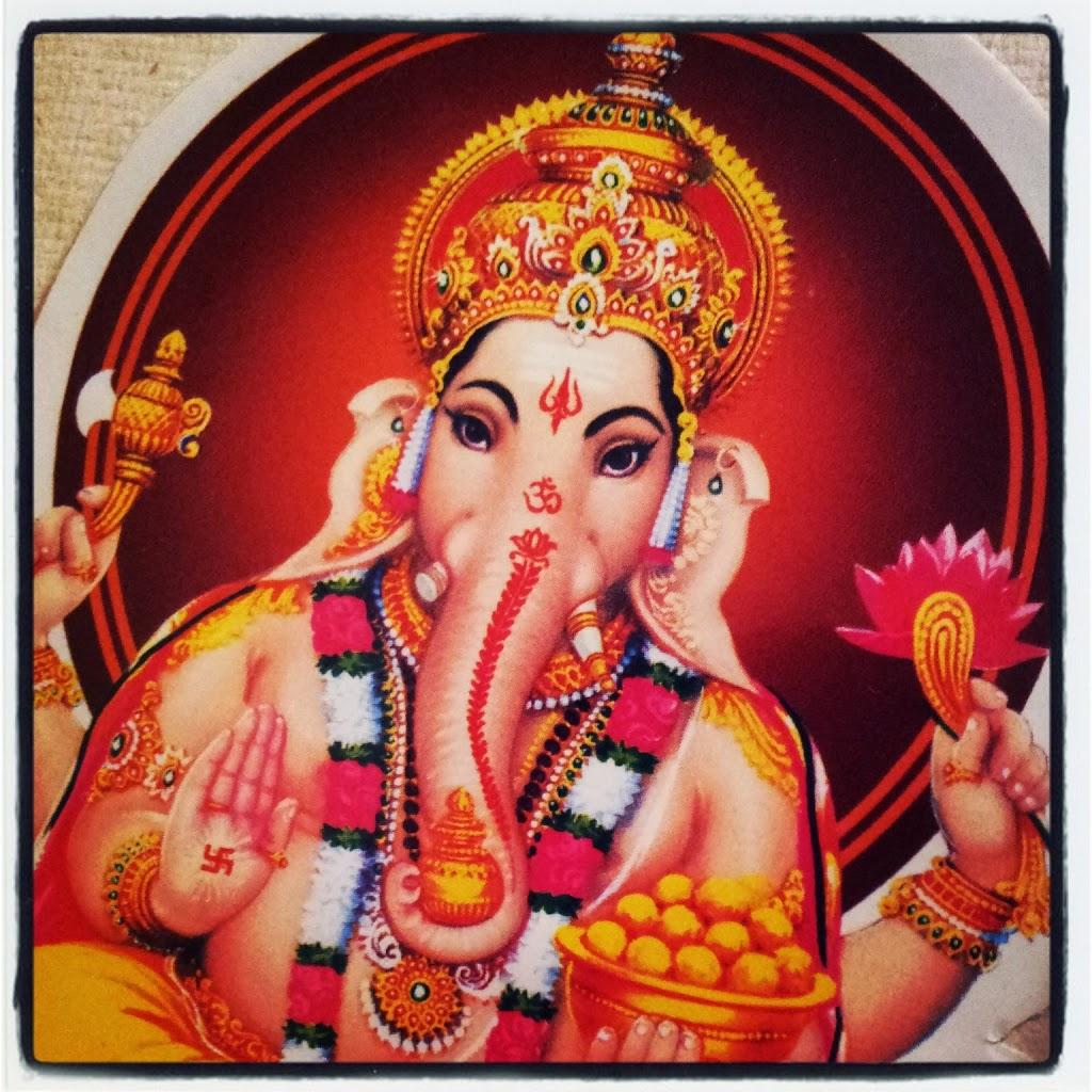 dessin de Ganes, Inde