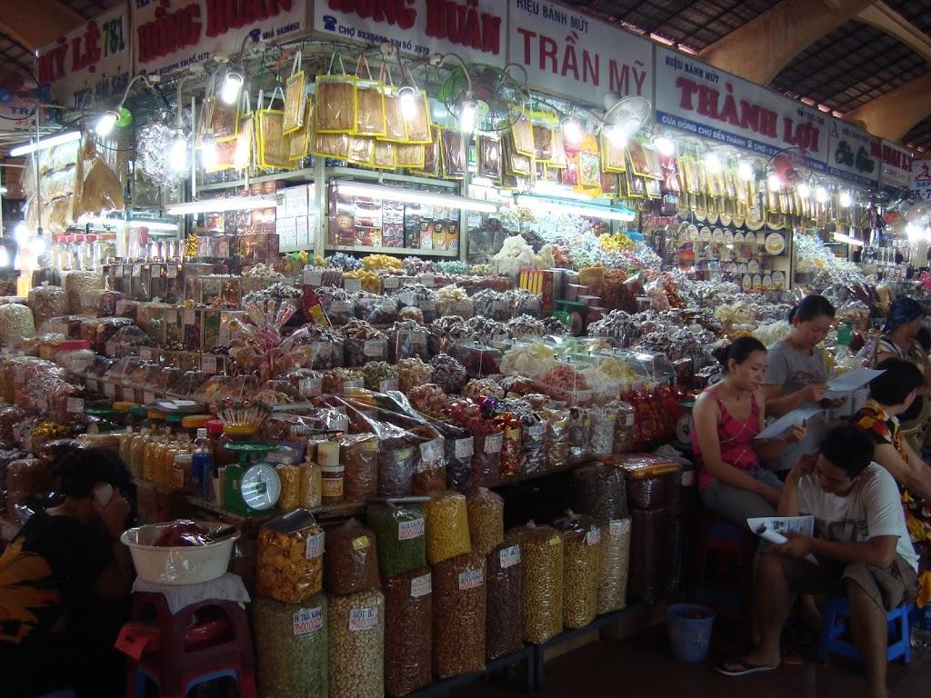 Marché à Ho CHi Minh