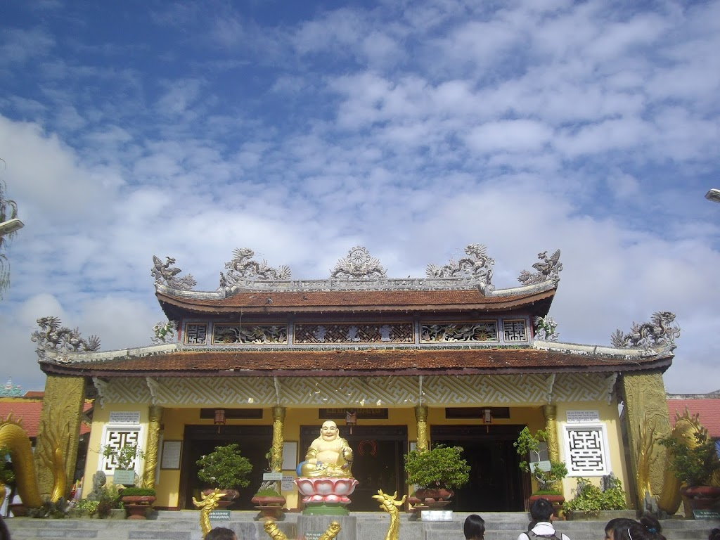 Temple à Da Lat, Vietnam