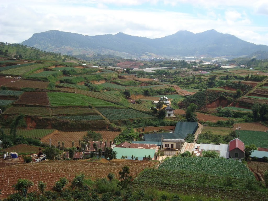 Vallée de Da Lat, Vietnam