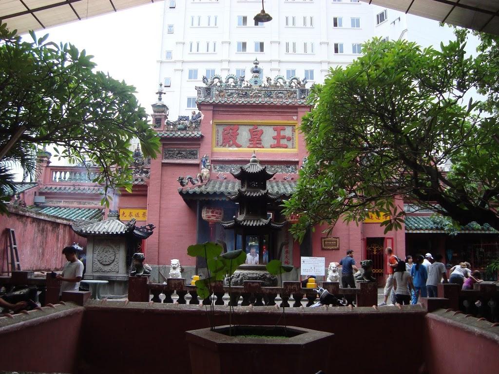 Temple à Ho Chi Minh, Vietnam