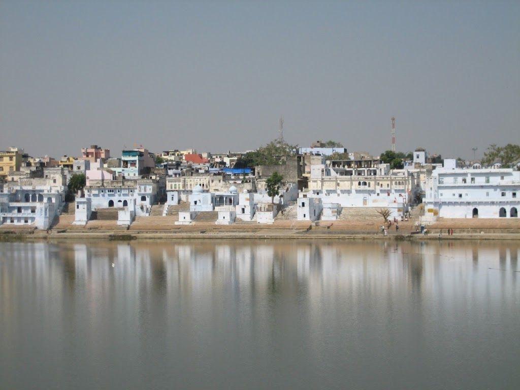Lac de Pushkar, en Inde
