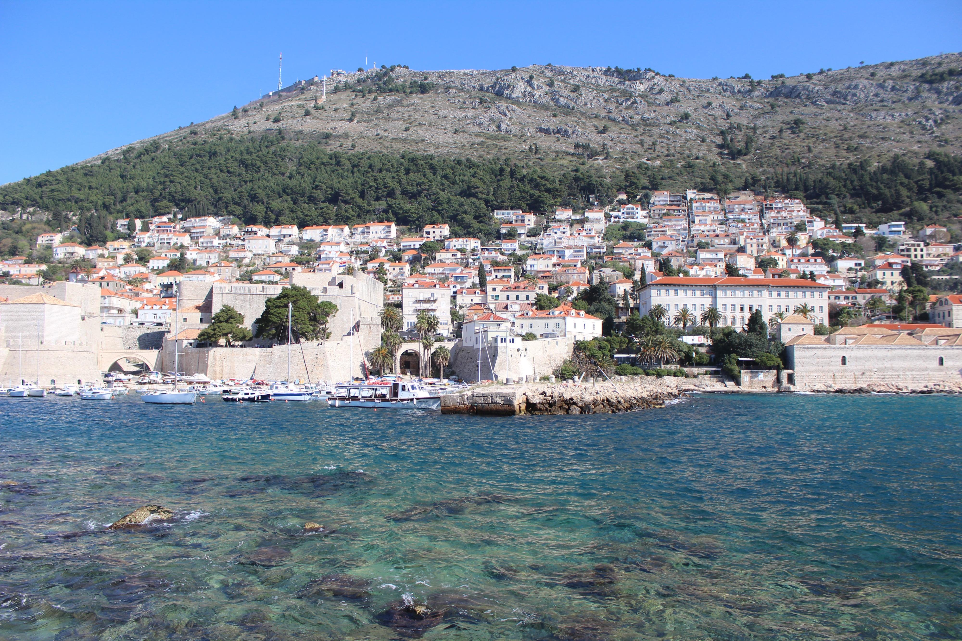 Dubrovnik bord de mer