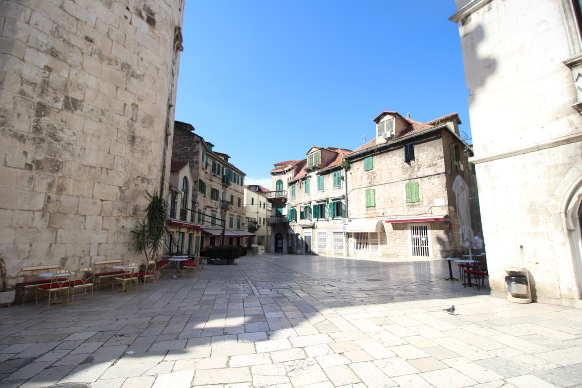 Dans les rues de Split