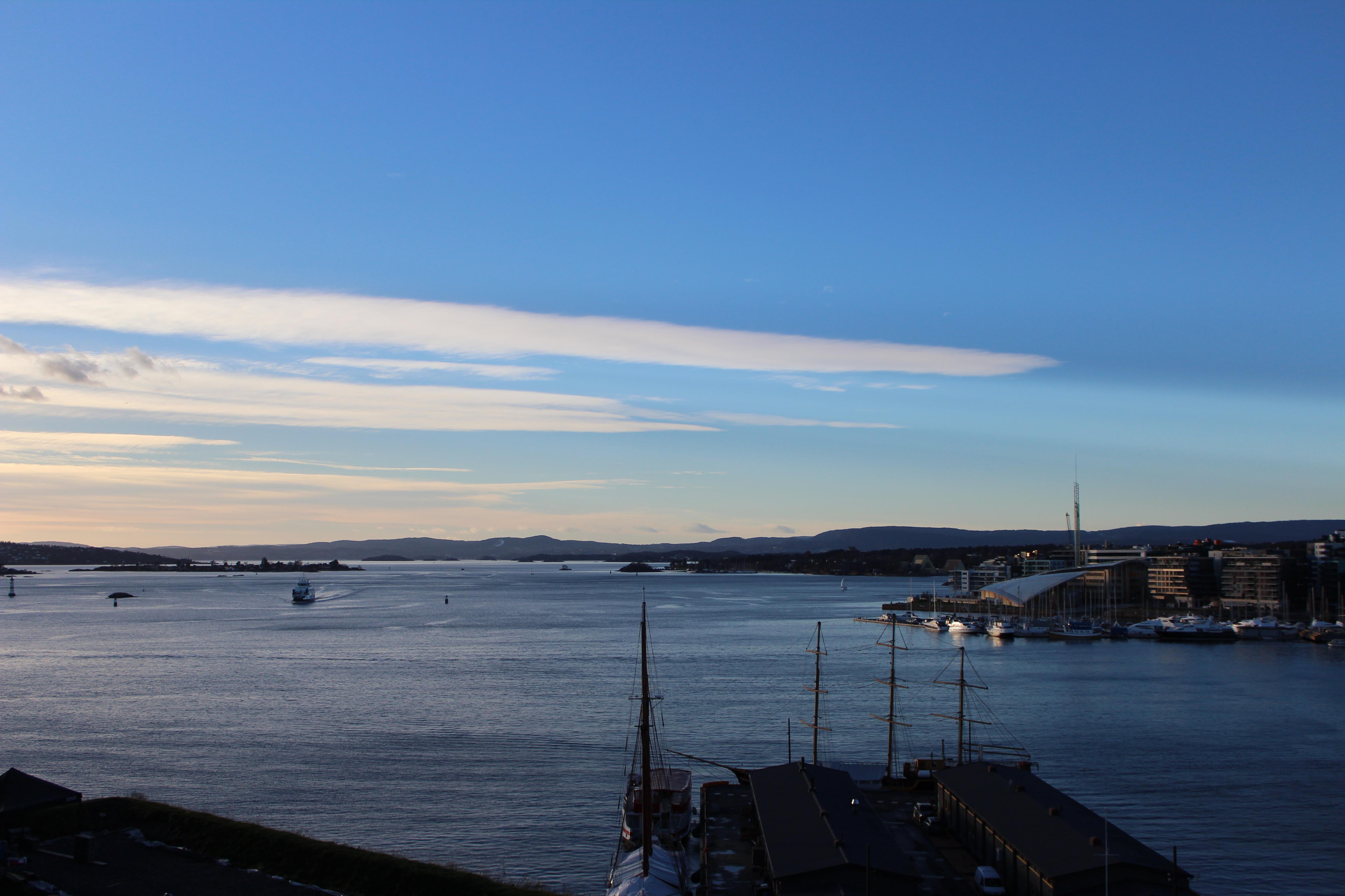 vue forteresse Akershus oslo
