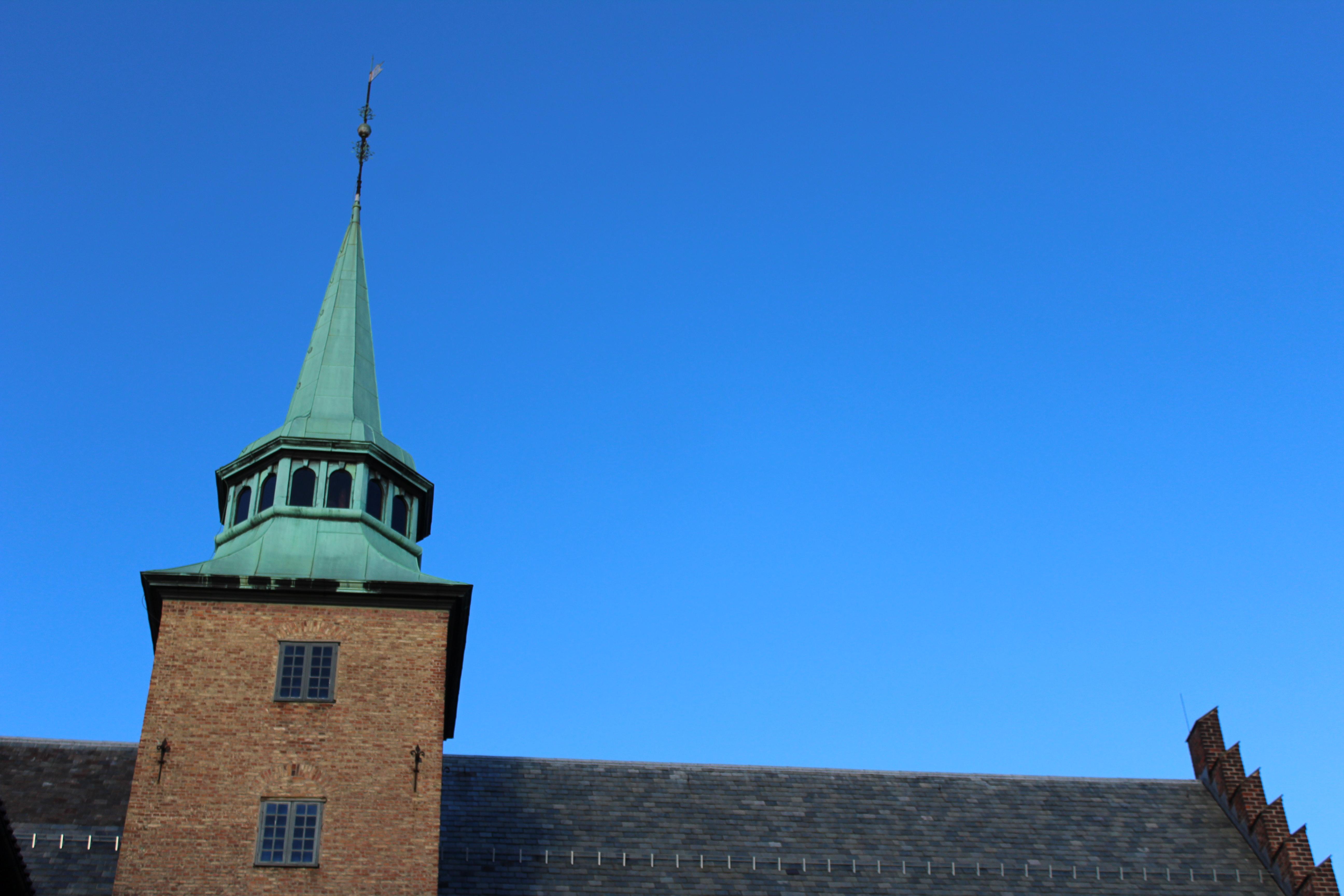 Akershus forteresse clocher oslo