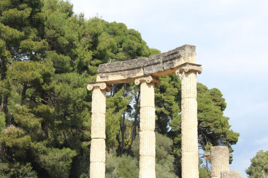 olympie grèce temple