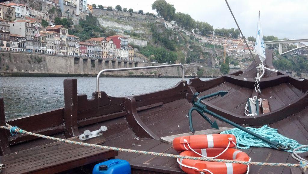 bateau sur le douro