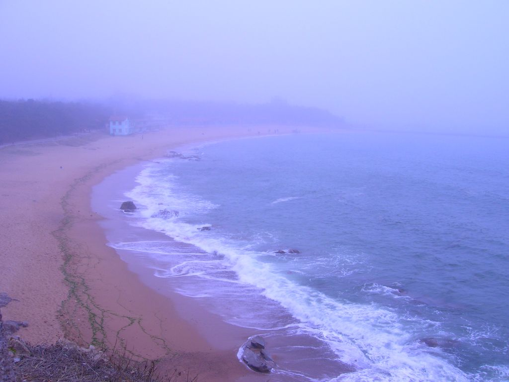 bord de mer Qingdao Chine