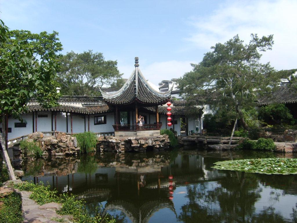 jardin de Suzhou, Chine