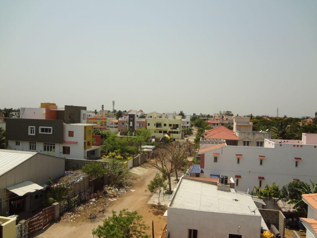 vue sur Panayur Inde