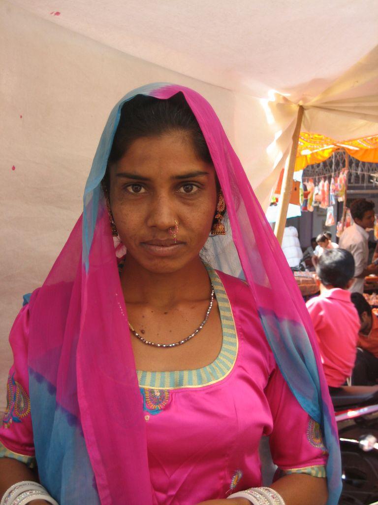 jeune femme Jodhpur Inde