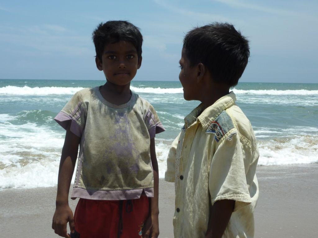 enfants Panayur Inde