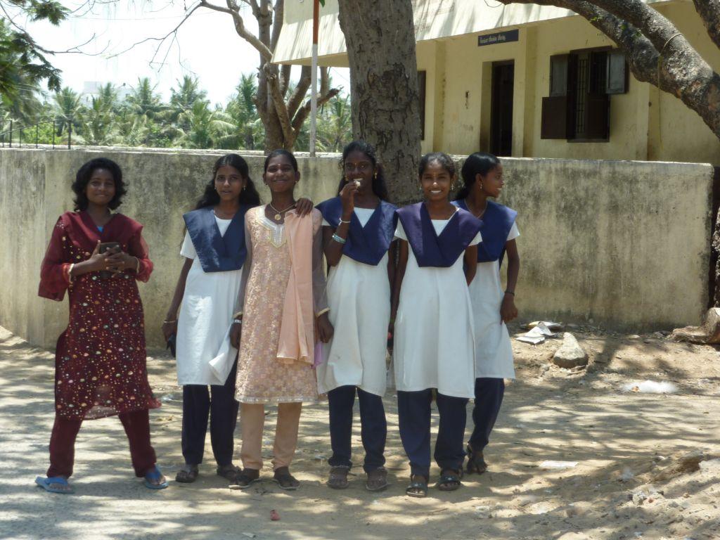 élèves Panayur Inde