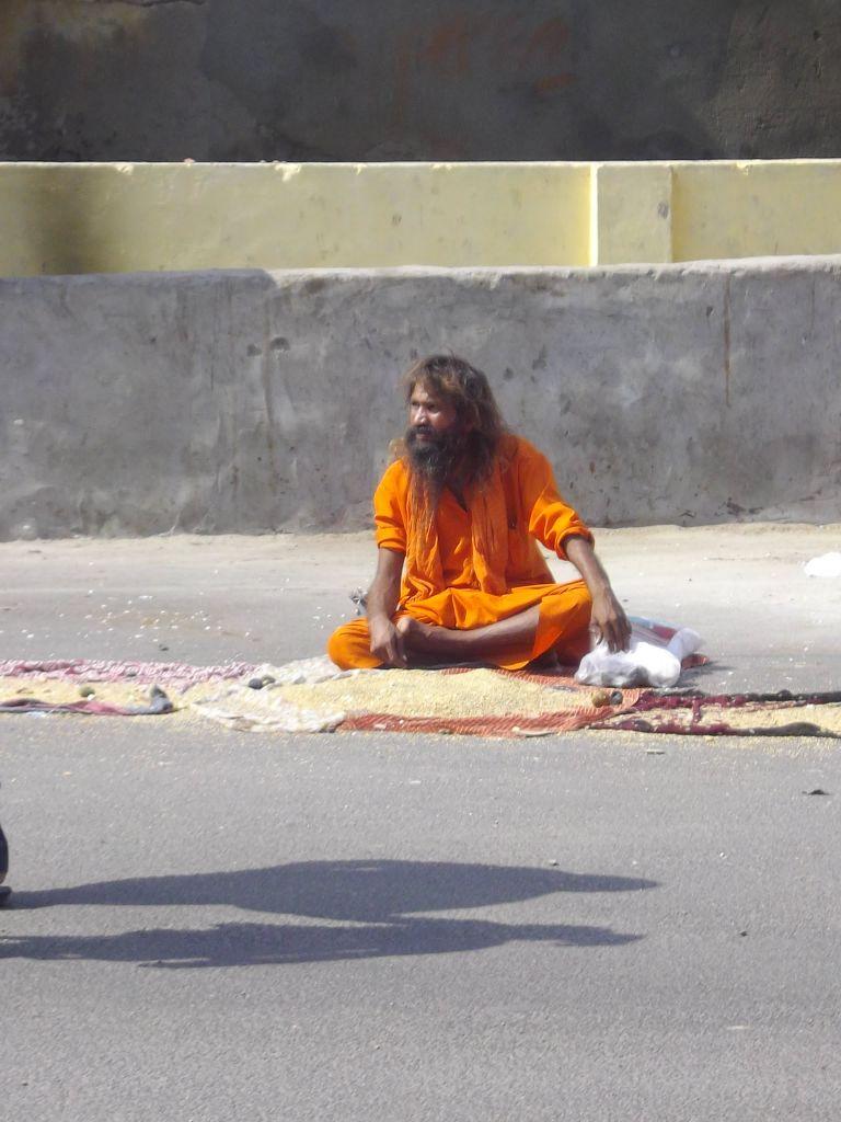 dans les rues de Jaipur Inde