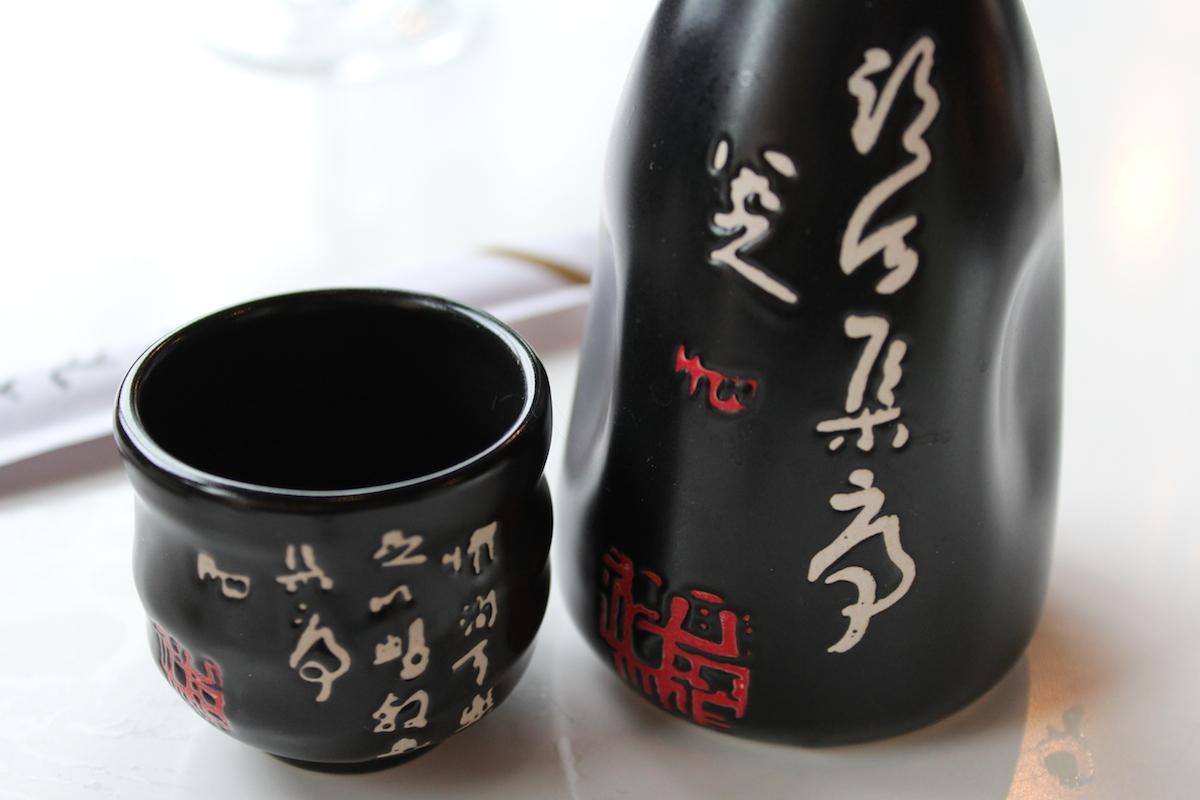 Saké chaud au Panasia