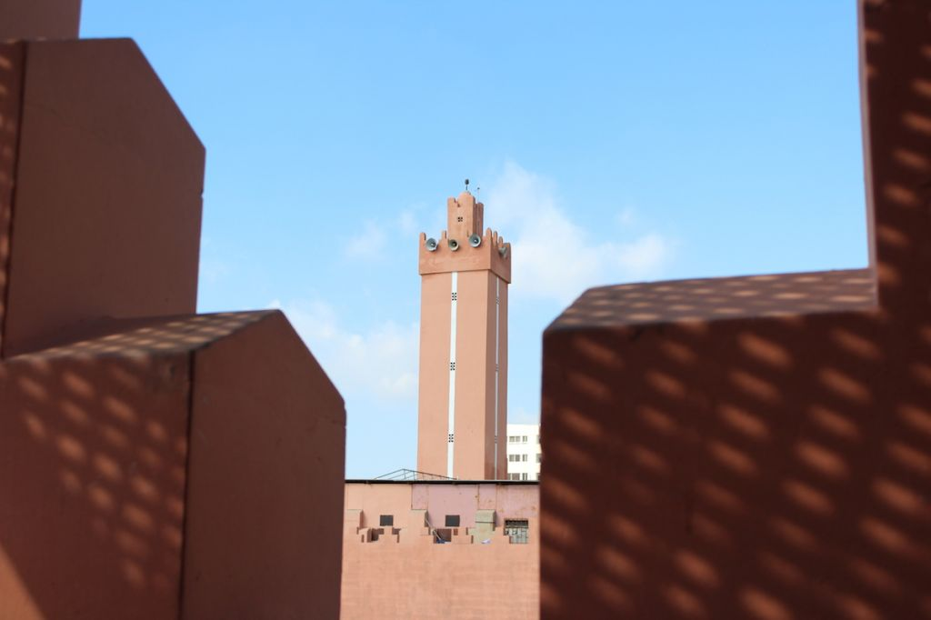 Mosquée Souk Agadir Maroc