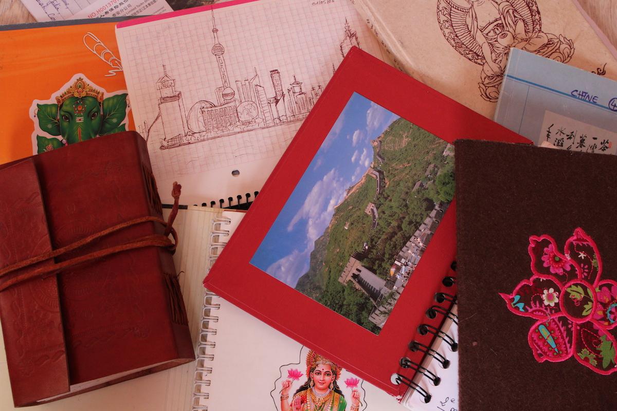 carnets de voyage Chine Inde