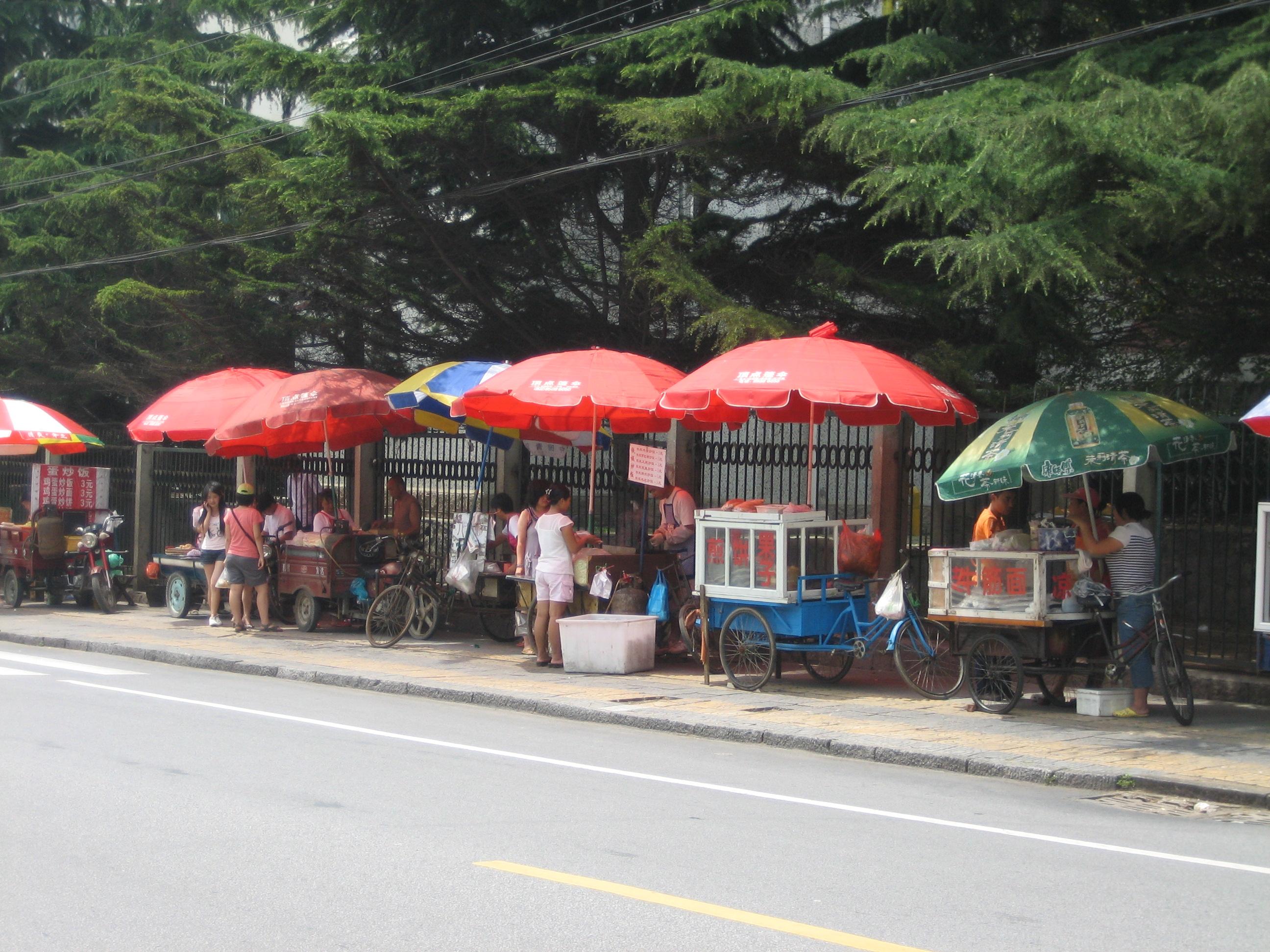 bouffe de rue qingdao chine