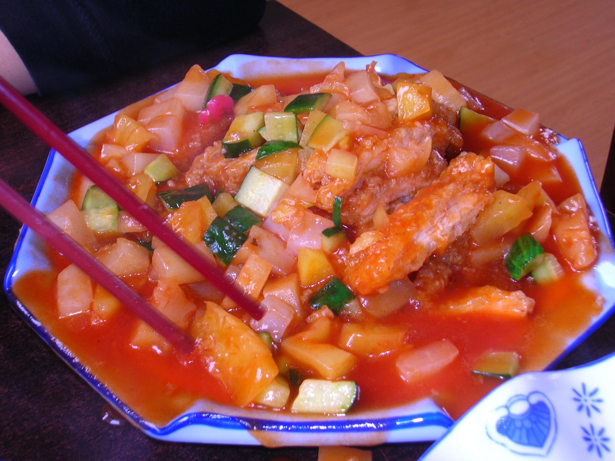 cuisine chinoise qingdao chine
