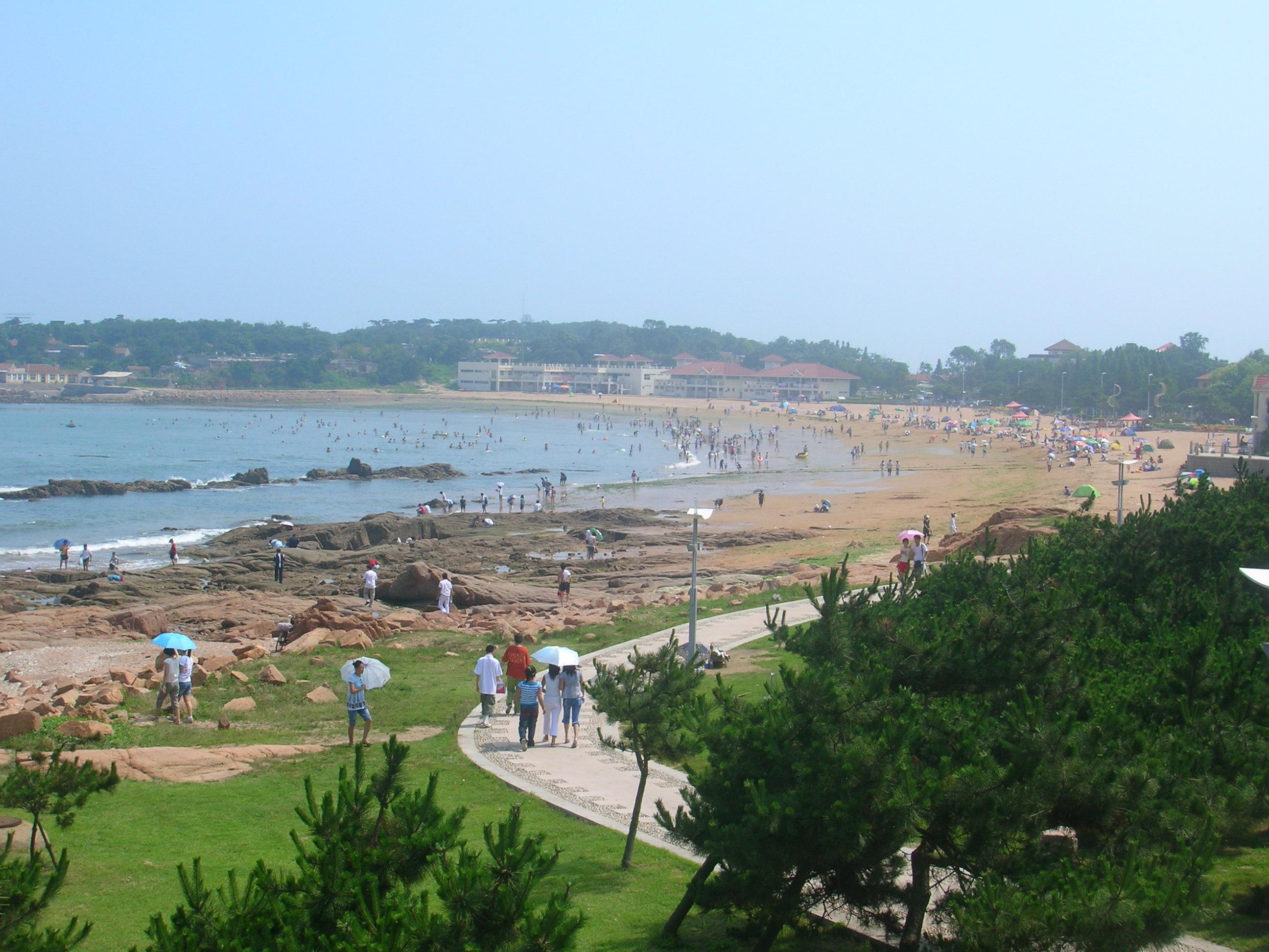 plage qingdao chine