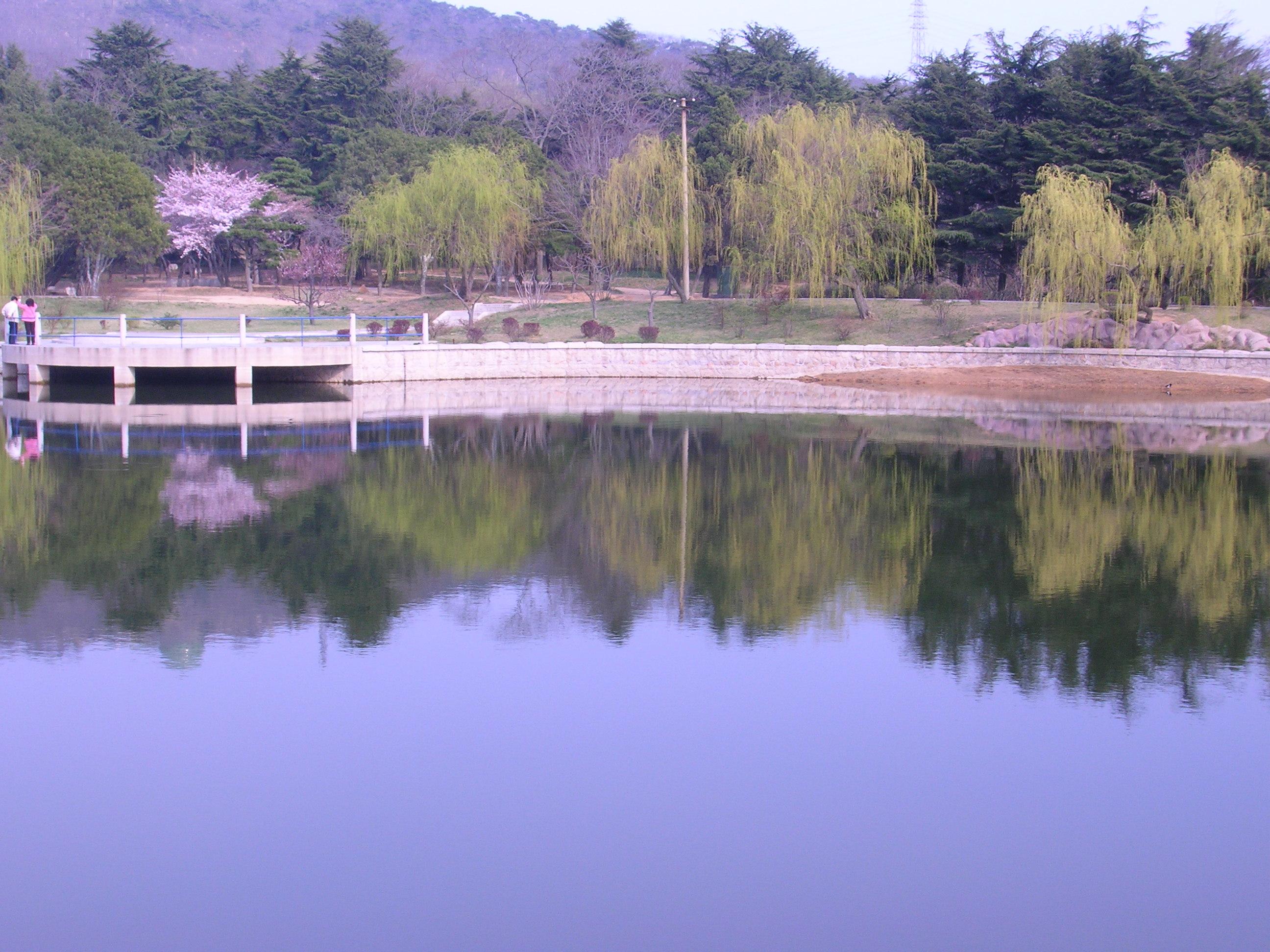 zhongshan park, qingdao, chine