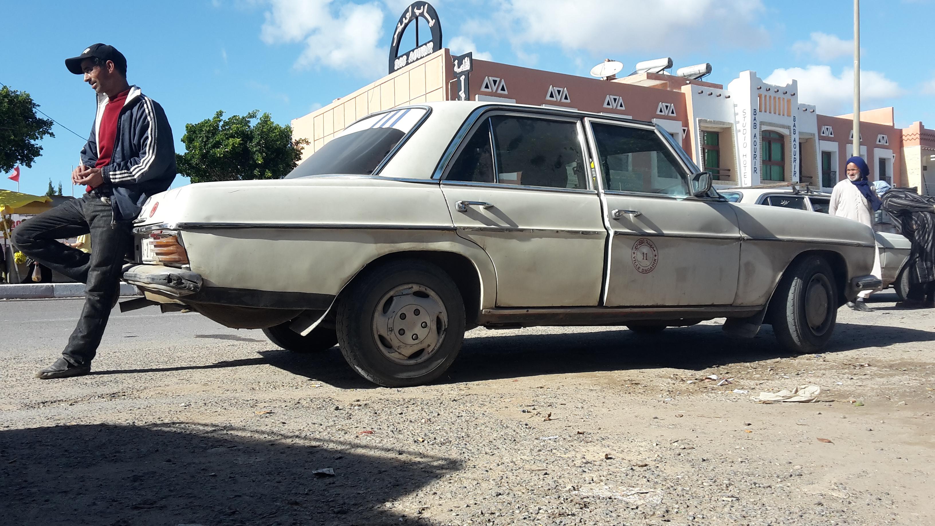 grand taxi maroc