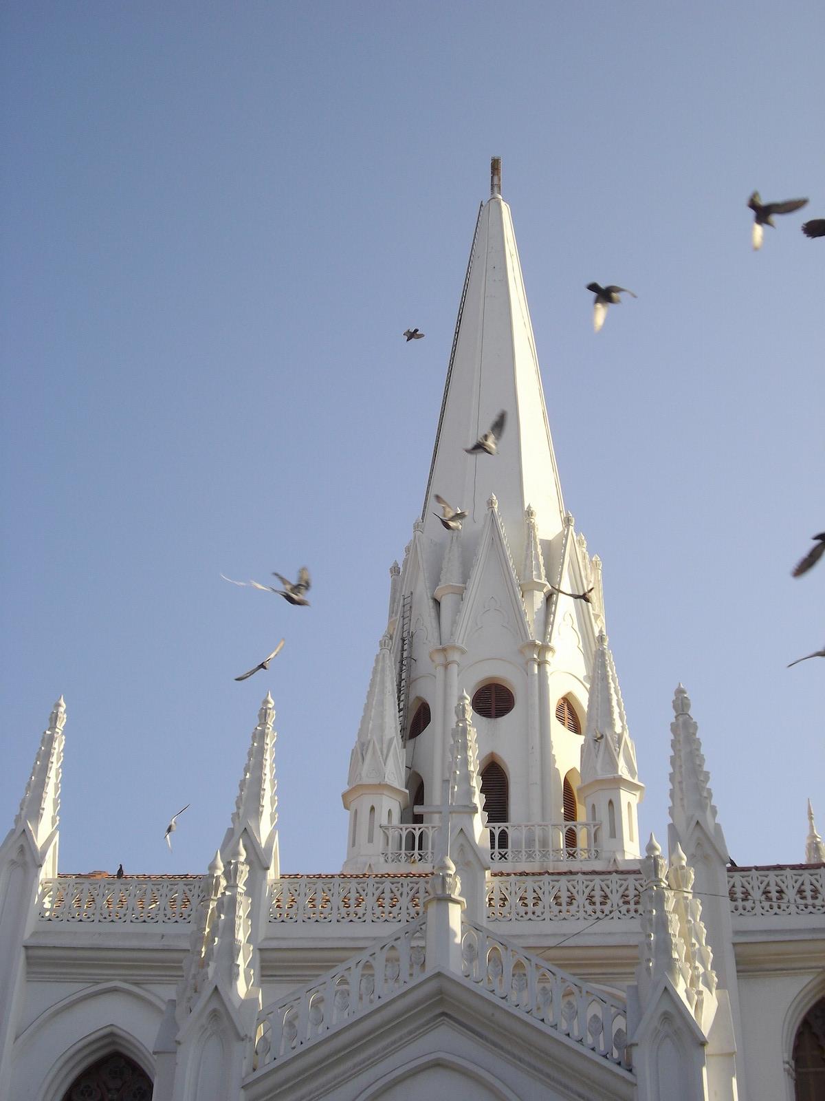 cathédrale st thomas chennai inde