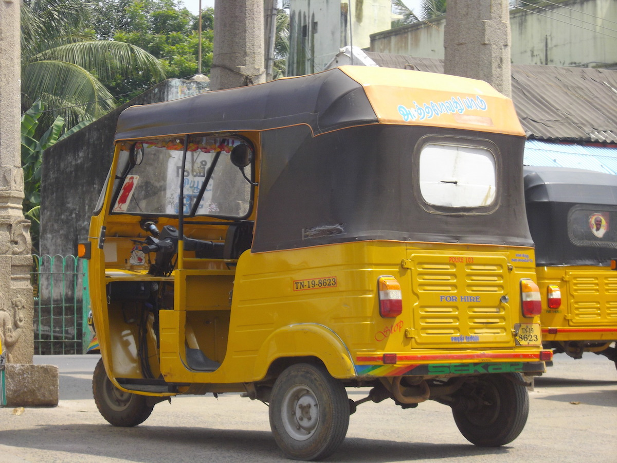 india rickshaw chennai