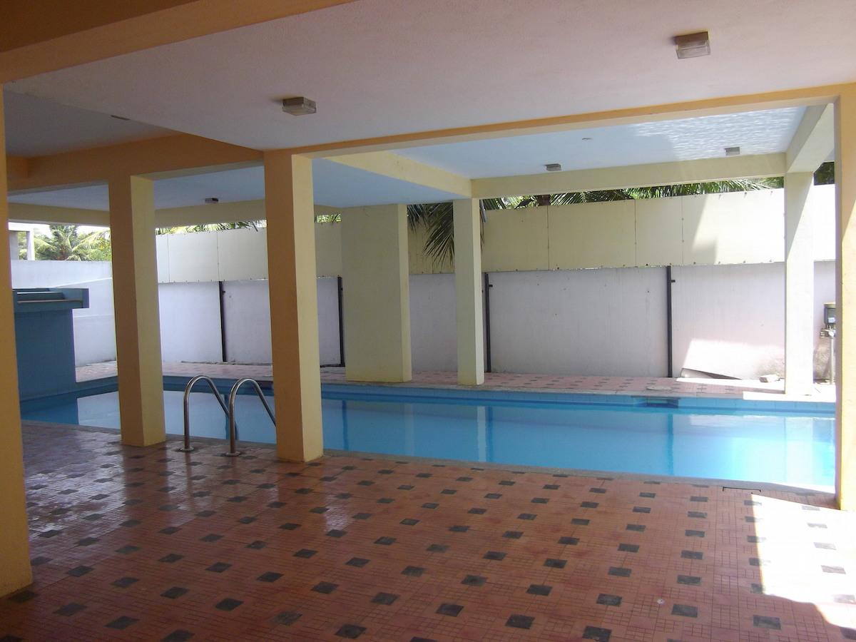 piscine appart panayur inde