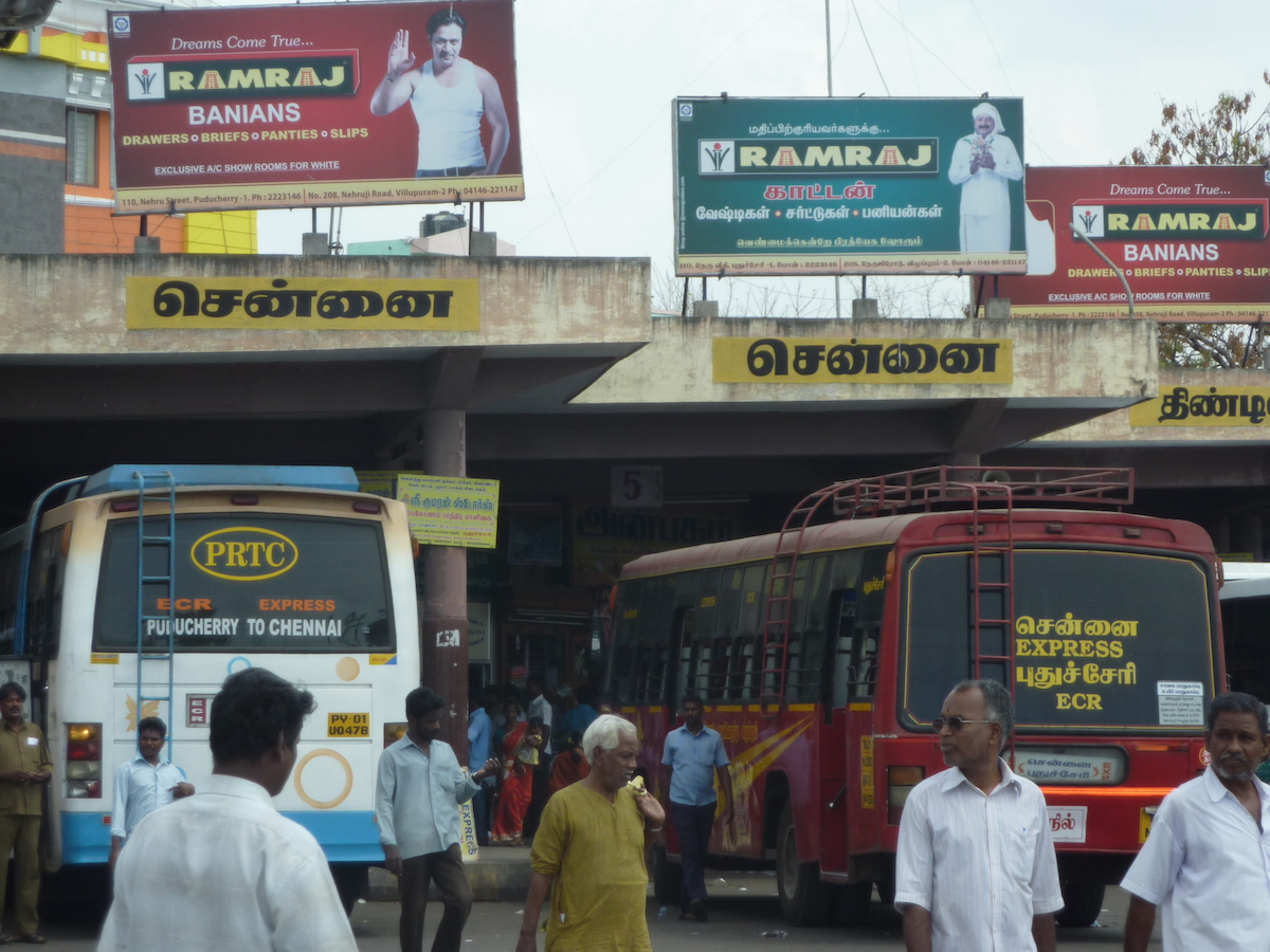 bus chennai india