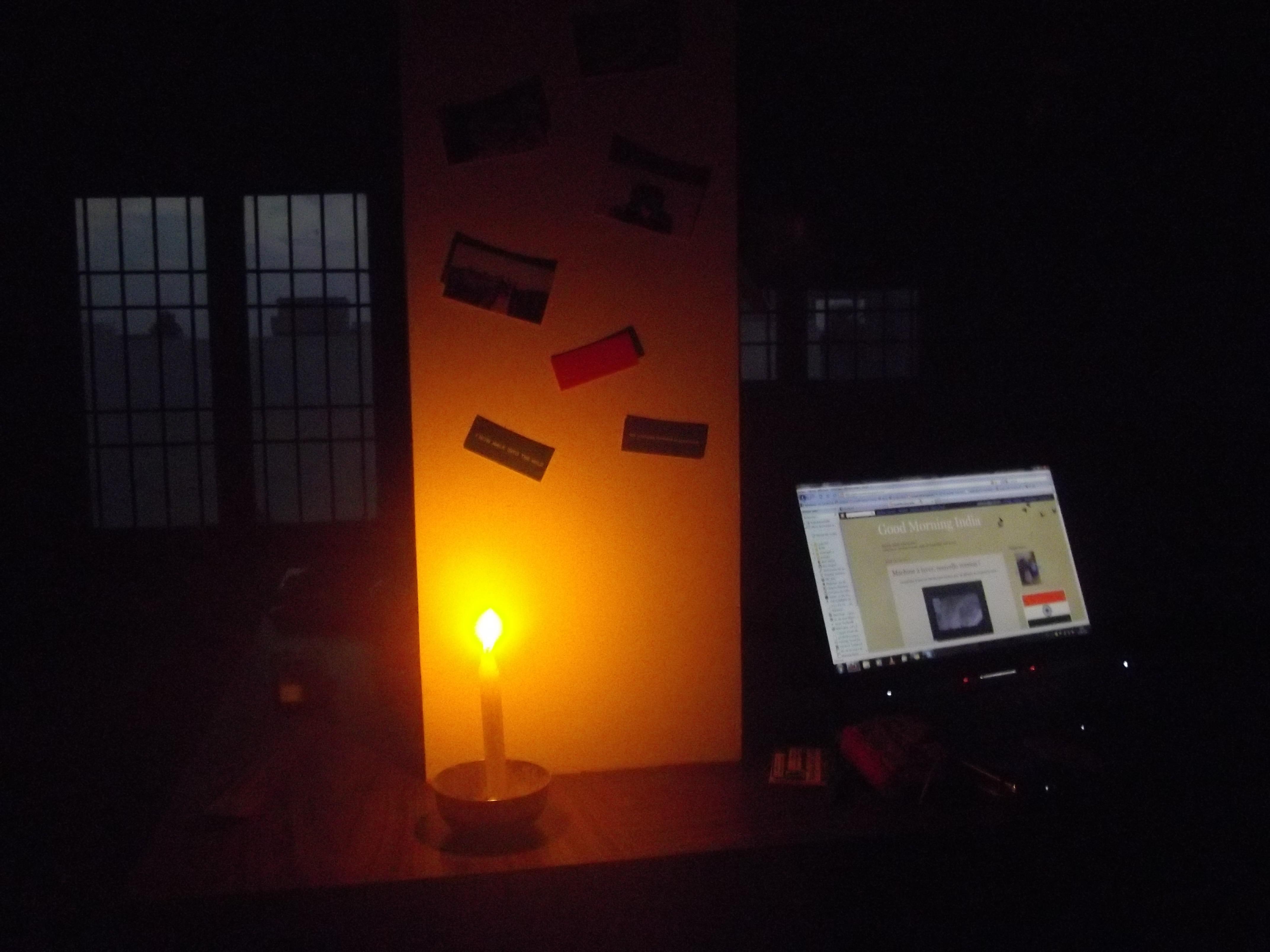pas d'électricité chennai inde