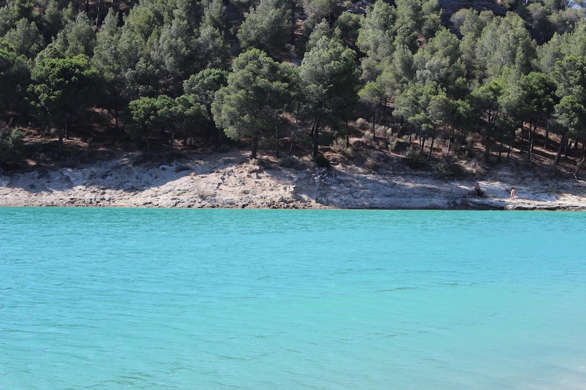 lac parc ardales andalousie