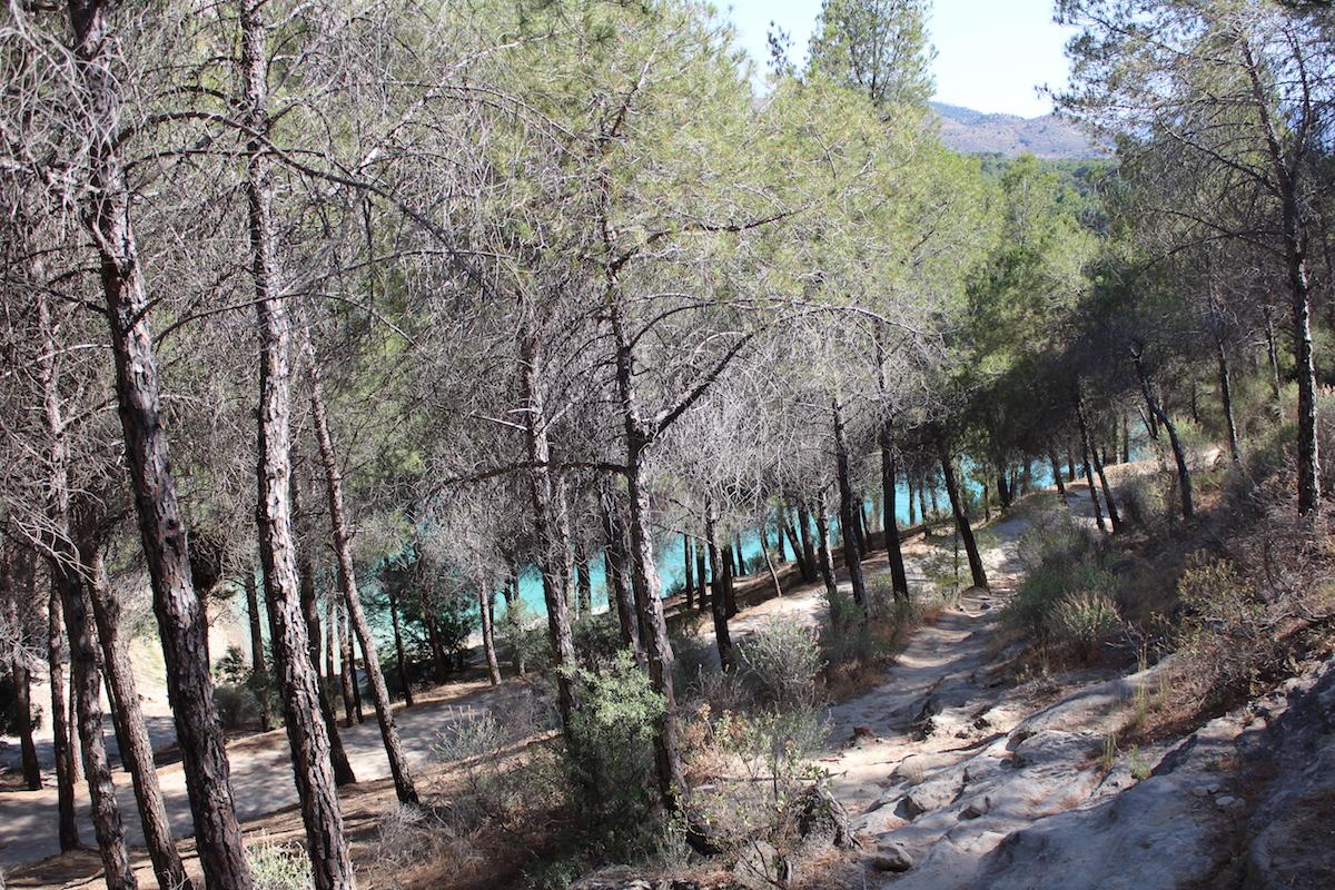 lac parc ardales espagne