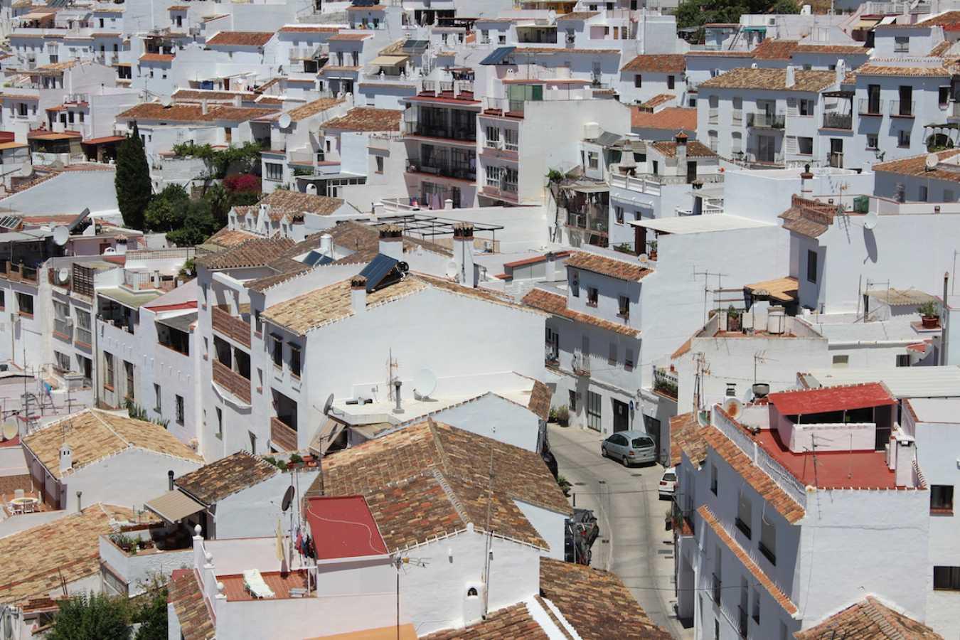 mijas ville andalousie espagne